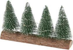 LED Tannenbäume mit Baumstamm