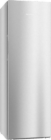 MIELE KS 28463 D ed/cs  Kühlschrank (A+++, 90 kWh/Jahr, 1850 mm hoch, Edelstahl CleanSteel)