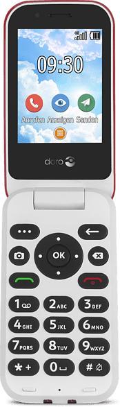 DORO 7030 Rot/Weiss, Handy