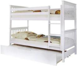 Etagenbett Sammy 90x200 cm Weiß