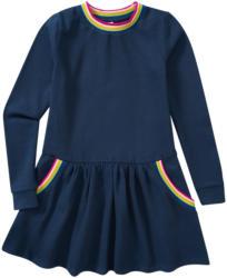 Mädchen Sweatkleid mit Regenbogen-Bündchen (Nur online)
