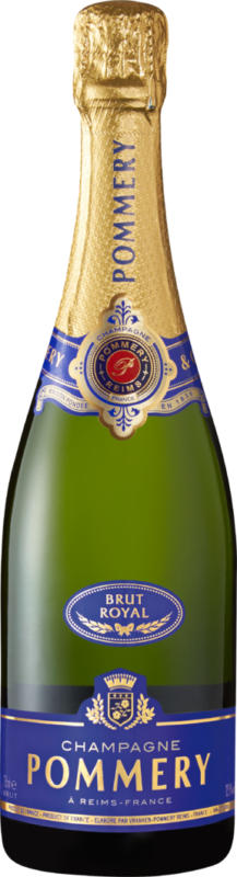 Pommery brut Royal Champagne AOC, Champagne, Frankreich, 75 cl