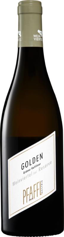 Grüner Veltliner Golden Weinviertel DAC Reserve, 2020, Autriche, 75 cl
