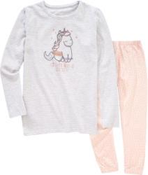 Mädchen Schlafanzug mit Einhorn-Motiv