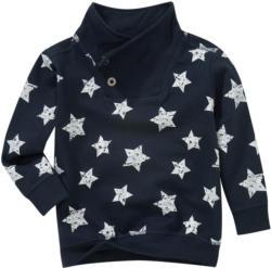 Jungen Sweatshirt mit Stern-Allover