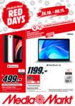 MediaMarkt Red Days - bis 08.11.2020