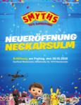 Smyths Toys Neueröffnung Neckarsulm - bis 05.11.2020