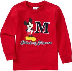 Micky Maus Langarmshirt mit großem Print