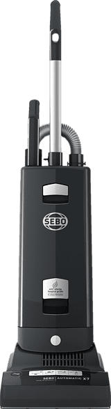 SEBO 91504 SE Automatic X7, Akkusauger mit Stiel, Bürstsauger, 890 Watt, Graphit