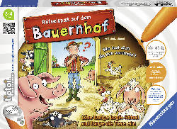 RAVENSBURGER tiptoi® Rätselspaß auf dem Bauernhof tiptoi®, Mehrfarbig