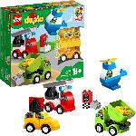 MediaMarkt LEGO 10886 Meine ersten Fahrzeuge Bausatz, Mehrfarbig