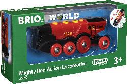 BRIO Rote Lola Batterielok Eisenbahn, Mehrfarbig