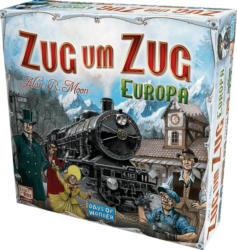 DAYS OF WONDER Zug um Zug Europa Gesellschaftsspiel, Mehrfarbig