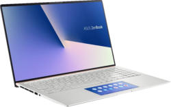 ASUS ZenBook 15 UX534FTC-A8184T, Gaming Notebook mit 15.6 Zoll Display, Core™ i7 Prozessor, 16 GB RAM, 512 GB SSD, GTX 1650 Max Q, Icicle Silver