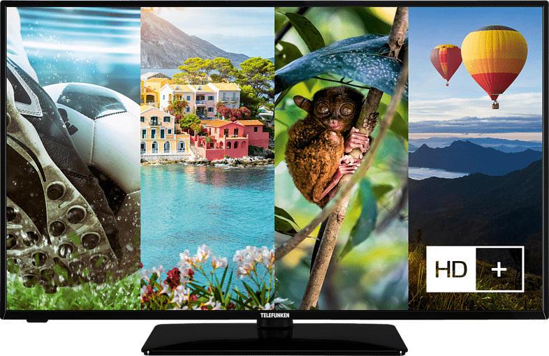 TELEFUNKEN D43 U551R1CW LED TV (Flat, 43 Zoll/108 cm, UHD 4K, SMART TV)