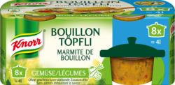 Bouillon Knorr, - aux légumes, marmite, 224 g