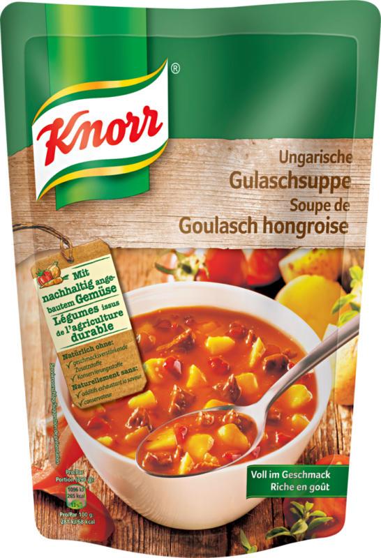 Knorr ungarische Gulaschsuppe, 379 ml