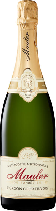 Mauler Cordon Or extra dry, Suisse, 75 cl