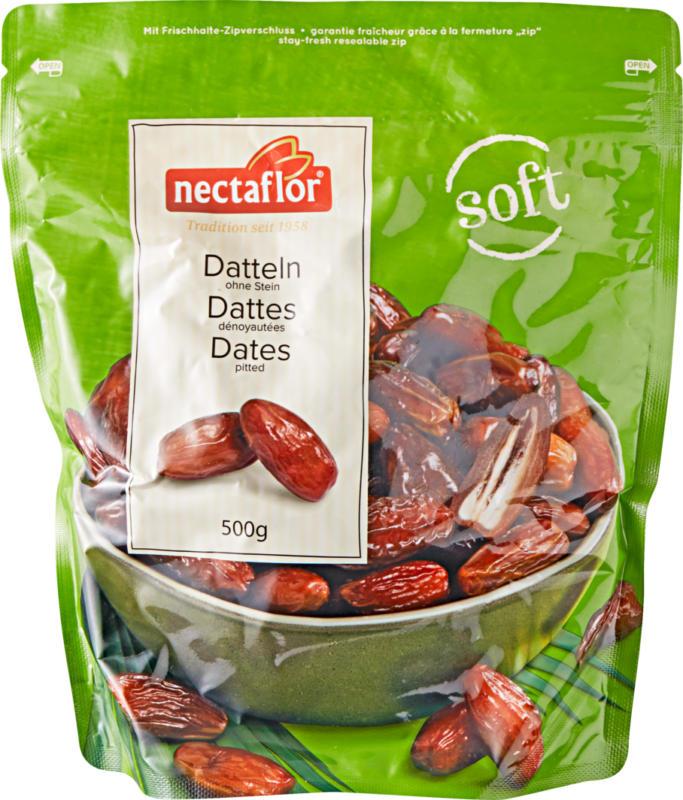 Datteri teneri Nectaflor, snocciolati, 500 g