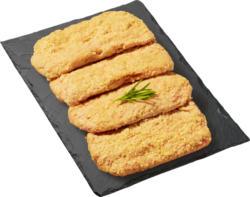 Geflügelbrätschnitzel mit Käse, paniert, 4 Stück, 400 g