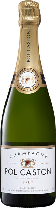 Pol Caston brut Champagne AOC, Champagne, France, 75 cl