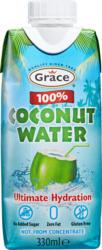 Eau de noix de coco 100% Grace, 33 cl