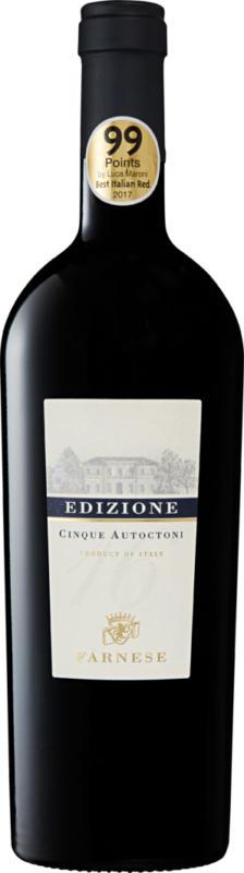 Edizione Cinque Autoctoni Vino da Tavola, Italien, 75 cl