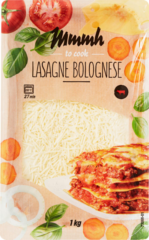 Lasagne Bolognese Mmmh, Manzo, 1 kg