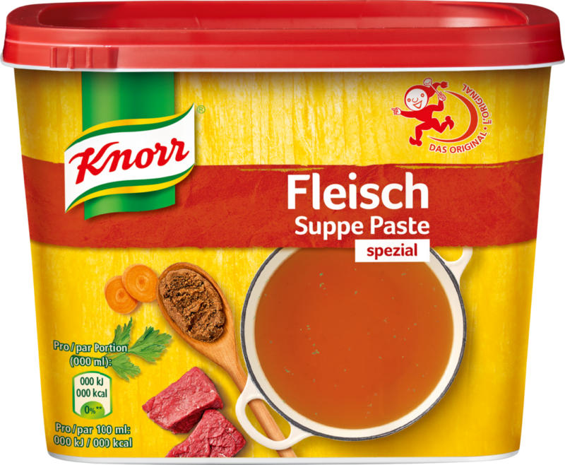 Knorr Fleischsuppe Paste, spezial, 850 g