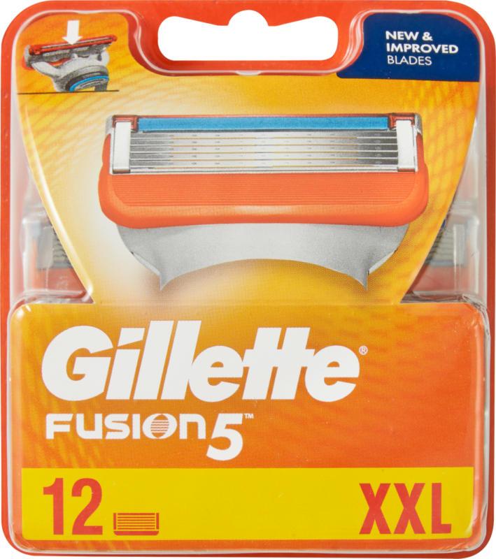 Gillette Ersatzklingen Fusion 5, 12 Stück
