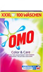 Omo Waschpulver Color & Care, 100 Waschgänge, 6,5 kg