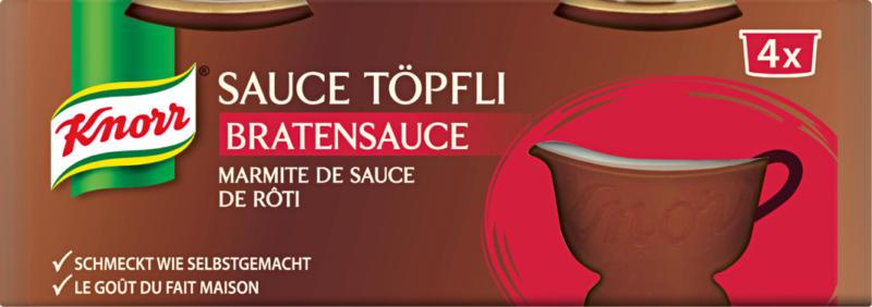 Knorr Bratensauce , Töpfli, 112 g
