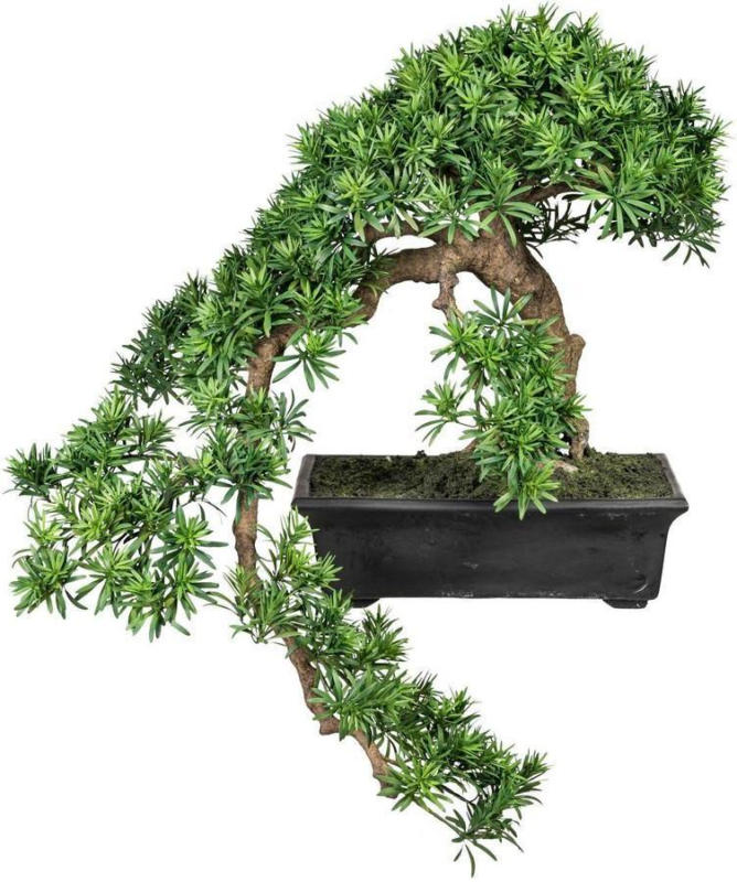 Kunstpflanze Bonsai H: 90 cm Grün