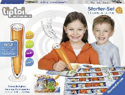 RAVENSBURGER Starter-Set: Stift und Buchstaben-Spiel tiptoi Stift, Mehrfarbig