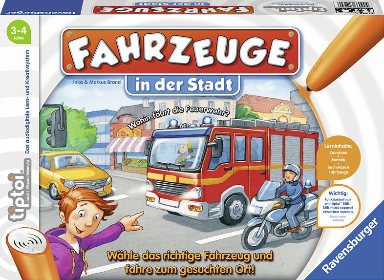 RAVENSBURGER Fahrzeuge in der Stadt tiptoi Spiele/Puzzles, Mehrfarbig
