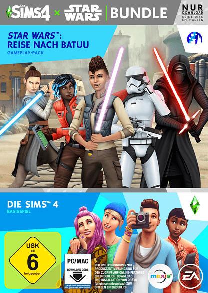 Die Sims 4 + Star Wars: Reise nach Batuu - Bundle [PC]