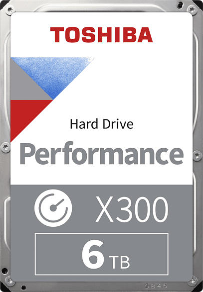 TOSHIBA X300, 6 TB Interner Speicher, HDD, 3.5 Zoll, intern