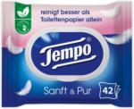 BILLA Tempo Feuchte Toilettentücher Sanft & Pur