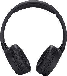 JBL Tune 660 BTNC, On-ear Kopfhörer Bluetooth Schwarz