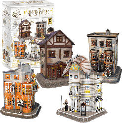 REVELL Harry Potter Diagon Alley™ Set 3D Puzzle, Mehrfarbig