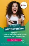 Profital Gagnez des bons Pfister - au 29.11.2020