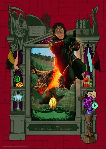 RAVENSBURGER Harry Potter und das Trimagische Turnier Puzzle, Mehrfarbig