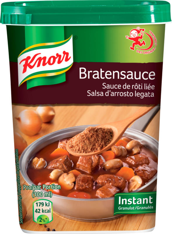 Salsa d'arrosto legata Knorr, Granulato istantaneo, 230 g