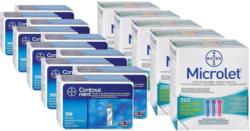 Bayer Contour Next, 10x100 Sensoren + 5x200 Microlet Lanzetten -