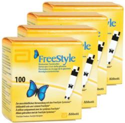 Abbott FreeStyle bandelettes réactives,  4 x 100 pièces -