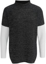 Damen Pullover mit Farbteiler (Nur online)