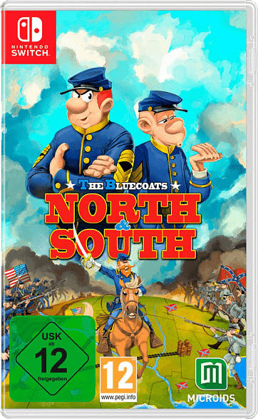 The Bluecoats: North & South - Limited Edition [Nintendo Switch]