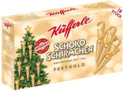 Küfferle Gold Schokoschirmchen 18er