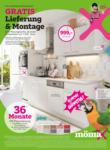 MömaX Gratis Lieferung und Montage - bis 07.11.2020