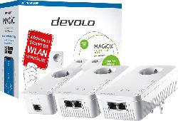 Powerline Adapter DEVOLO 8625 Magic 2 WiFi next Multiroom Kit 2400 Mbit/s Kabellos und Kabelgebunden